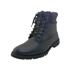 "N6107 - ""Himalayans"" Men's 6.5 Inches Insulated Leather Upper Work Boots ( *Black Color )"