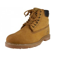 N6210 - Wholesale Men's Nubuck Leather Work Boots