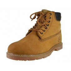 "N6210 Men's "" Himalayans "" 6 Inches Nubuck Insutaled Leather Work Boots ( *Tan Color )"