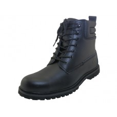 "N6810-S - ""Himalayans"" Men's 6.5 Inches *Steel Toe Insulated Leather Upper Work Boots ( *Black Color )"