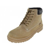 "N7210 - Wholesale Men's  ""Himalayans"" Insulated Leather Upper Injection Work Boots ( *Tan Color )"