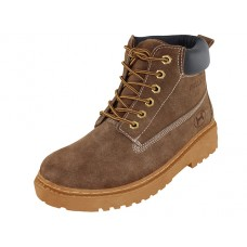 "N7210 - Wholesale Men's  ""Himalayans"" Insulated Leather Upper Work Boots ( *Tan Color )"