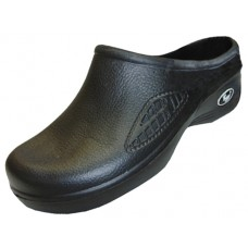 S2390M-BB Wholesale Men's Close Toe Rubber Nursing Shoes ( *Black Color )