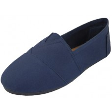 "S308M-N Wholesale Men's ""EasyUSa"" The Most Comfortable Slip On Casual Canvas Shoe ( *Navy Color )"