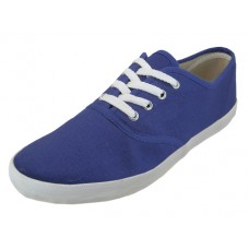 "S324M-NAVY Wholesale Men's ""EasyUSA"" Casual Canvas Lace Up Shoe ( *Navy Color )"