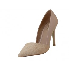 "ARIA-01-BEIGE - Wholesale Women's ""Mixx Shuz"" High Heel Pump Bride Shoe  ( *Beige Color ) *Last 4 Case"