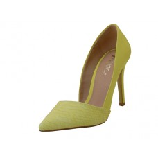 "ARIA-01-YELLOW - Wholesale Women's ""Mixx Shuz"" High Heel Pump Bride Shoe  ( *Yellow Color )"