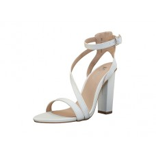 "AURORA-W Wholesale Women's ""Angeles Shoes"" High Heel Sandal With Ankle Strap ( *White Color ) *Last Case"