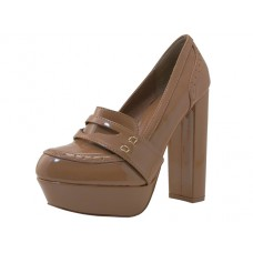"CAITLIN-CAMEL Wholesale Women's ""Angeles Shoes"" Wedges Slip On Shoes ( *Camel Color ) *Last 4 Case"