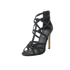 "CATHY J-BK Wholesale Women's ""Cathy Jean"" High Heel Gladiator Sandal ( *Black Color )"