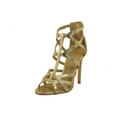 CATHY J-G Wholesale Women's High Heel Gladiator Sandal ( *Gold Color )