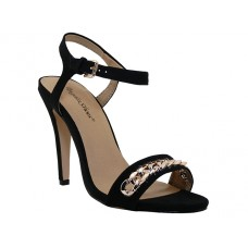 "CHARLOTTE-BK Wholesale Women's ""Angeles Shoes"" Hi-Heel Sandals ( *Black Color )"