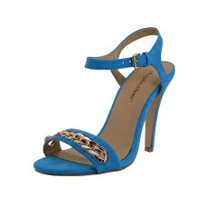"CHARLOTTE-TEAL Wholesale Women's ""Angeles Shoes"" Hi-Heel Sandals ( *Teal Color )"