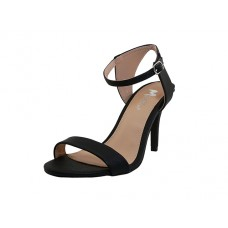 "CHIP-01-BK Wholesale Women's ""Angeles Shoes"" High Heel Sandal With Ankle Strip ( *Black Color ) *Last Case"