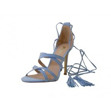 "FANNY-01-BLUE Wholesale women's ""Mixx shuz"" High Heel Ankle Strip Sandal ( *Light Blue Color )"