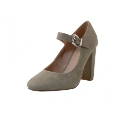 "KAITLYN-01-TAUPE Wholesale Women's ""Mixx Shuz"" High Heel Mary janes Shoe ( *Taupe Color ) *Last 2 Case"