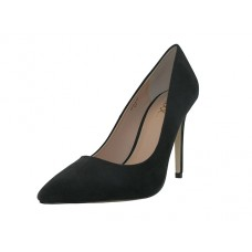 "KAYLA-02-BLACK MICRO FIBER - Wholesale Women's Micro Fiber ""Mixx Shuz"" High Heel Pump Bride Shoe ( *Black color ) *Last Case"