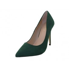 "KAYLA-02-OLIVE - Wholesale Women's Micro Fiber ""Mixx Shuz"" High Heel Pump Bride Shoe  ( *Olive color ) *Last  5 Case"