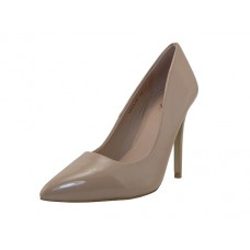 "KAYLA-04-NUDE PATENT - Wholesale Women's ""Mixx Shuz"" High Heel Pump Bride Shoe ( *Nude Patent color ) Last Case"