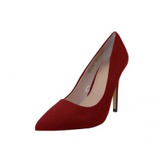 "KAYLA-02-RED - Wholesale Women's  Micro Fiber ""Mixx Shuz"" High Heel Pump Bride Shoe  ( *Red color ) *Last Case"