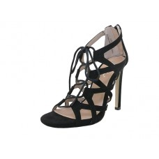 "LEXI-01-BK Wholesale Women's ""Mixx Shuz"" High Heel Gladiator Strip Sandals ( *Black Color )"