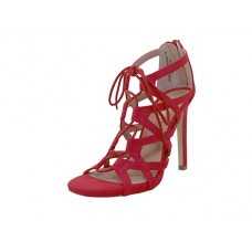 "LEXI-01-RED Wholesale Women's ""Mixx Shuz"" High Heel Gladiator Strap Sandals ( *Red Color )"