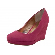 "LIZ-PINK Wholesale Women's ""Angeles Shoes"" Hi-Platform Wedge ( *Pink Color ) *Last 3 Case"