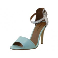 "MALLORY-MINT - Wholesale Women's ""Angeles Shoes"" High Heel Angel Strip Sandals ( *Mint With Silver Color ) *Last Case"