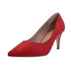 "MERIDA-02 RED MICRO - Wholesale (Mixx Chuz) Women 2½"" Heel Pump (*Red Micro Fiber) *Last Case"