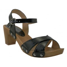"QUINTA-BK - Wholesale Women's ""Mixx Shuz"" Comfortable Sandals ( *Black Color ) *Last Case"