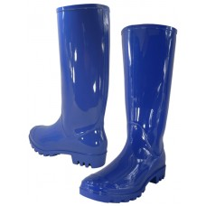 "RB-010-Royal Wholesale Women's ""EasyUSA"" 13½ Inches Water Proof Soft Rubber Rain Boots (*Royal Blue Color )"