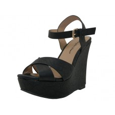"ROSE MARY Wholesale Women's ""Angeles Shoes"" Hi-Heel Sandals ( Black Color ) *Last 2 Case"