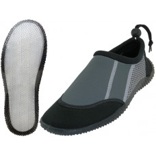 S1186-L - Wholesale Women's  Clear Super Soft None Marking Outsole Water Shoes ( *Black/Gray Color )