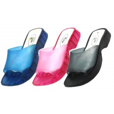 S2116-A Wholesale Women's Smooth Jelly Slide Sandal (Closeouts $1.00/Pr. Case $24.00)