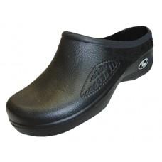 S2390L-BB Wholesale Women's Close Toe Rubber Nursing Shoes ( *Black Color )