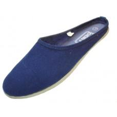 S262L-N Wholesale Women's Mule Slip On Canvas Shoes ( *Navy Color ) *Close Out $1.00/Pr Case $36.00 *Last 2 Case