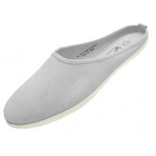 S262L-W Wholesale Women's Mule Slip On Canvas Shoes ( *White Color ) *Close Out $1.00/Pr Case $48.00 *Last 2 Case