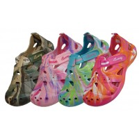 S2910L-TD - Wholesale Women's Tie-Dyed Velcro Sandals ( *Asst. Color )