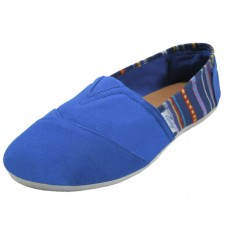 "S308L-N Wholesale Women's :EasyUSA"" The Most Comfortable Slip On Casual Canvas Shoe ( *Navy Color )"