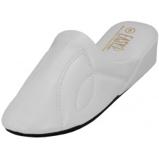 S320L-W EasyUSA Women's Close Toe Soft Vinyl Upper House Slipper ( *White Color )