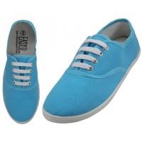 """S324L-AZUL Wholesale Women's """"EasyUSA"""" Casual Canvas Lace Up Shoes ( *Azul Color )"""