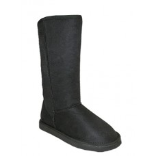 S5640L-B Wholesale Women's Flannel Lining Winter Boots ( *Black Color )