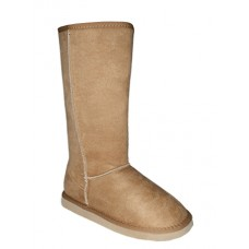 S5640L-C  Wholesale Women's Flannel Lining Winter Boots ( *Beige Color )