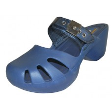 S5800L-N Wholesale Women's Wedge Clogs ( *Navy Color )