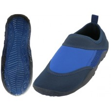 S692-L - Wholesale Women's Clear Super Soft None Marking Outsole Water Shoes ( Royal/Black Color ) *Last 5 Case