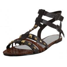 S7300L-T Wholesale Women's Stud Gladiator Sandals ( *Brown Color ) *Closeout $2.00/Pr Case $36.00