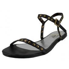 S7400L-B Wholesale Women's Stud Thing Strip Sandals ( *Black ) *Closeoue $2.00/Pr Case $36.00