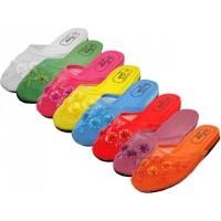 S788-SS - EasyUSA Women's Mesh Upper With Sequin Comfort Slippers ( *Asst. 8 Light Color )