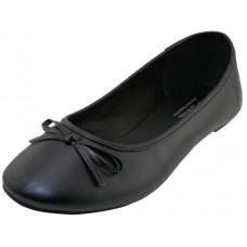 S8500L-B Wholesale Women's Comfort Ballerina Shoes ( *Black Color )