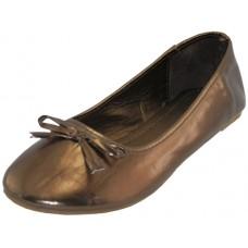 S8500L-Z Wholesale Women's Ballerina Shoes ( *Bronze Color )